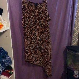 Rue21- Assemetrical, Leopard Print Dress